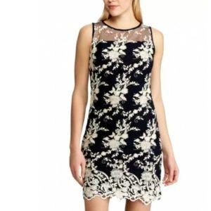 Lauren Ralph Lauren Lace Sheath Dress Sleeveless